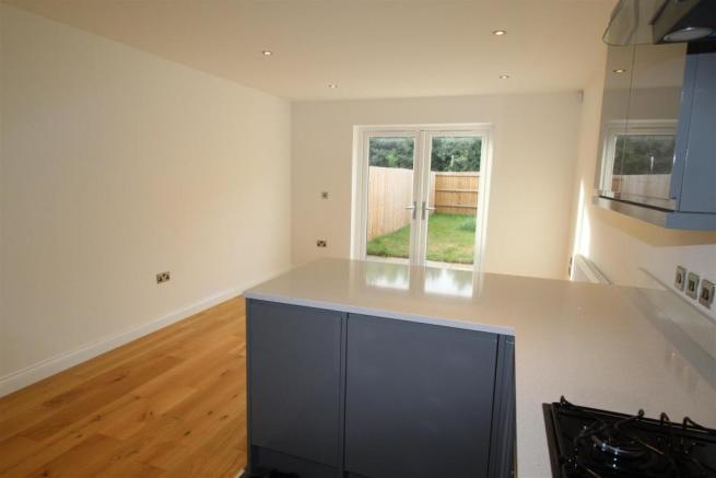 Living Area to Rear Elevation.