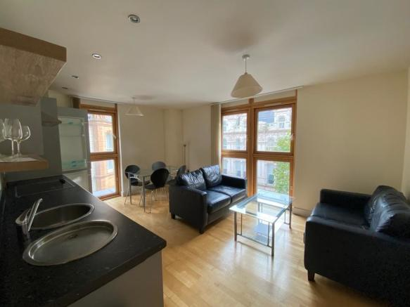 Thumbnail BIRMINGHAM, TEMPLE STREET, TEMPLE HOUSE: **New to the market**This Furnished Two bedroom apartment is located within a sought after development in Birmingham City offering hallway with storage, open plan lounge/dining/fitted kitchen with full range of integrated appliances, Two Double bedrooms & ...