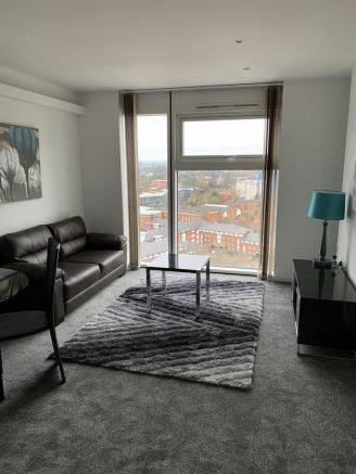 Thumbnail **BIRMINGHAM, THE CUBE, WHARFSIDE**: AVAILABLE NOW! INCREDIBLE 21ST FLOOR APARTMENT! HIGHLY SOUGHT AFTER DEVELOPMENT! With superb views of the city centre from 21st floor, this Super Furnished Apartment offers an open plan lounge living area with fitted kitchen comprising a full ra...