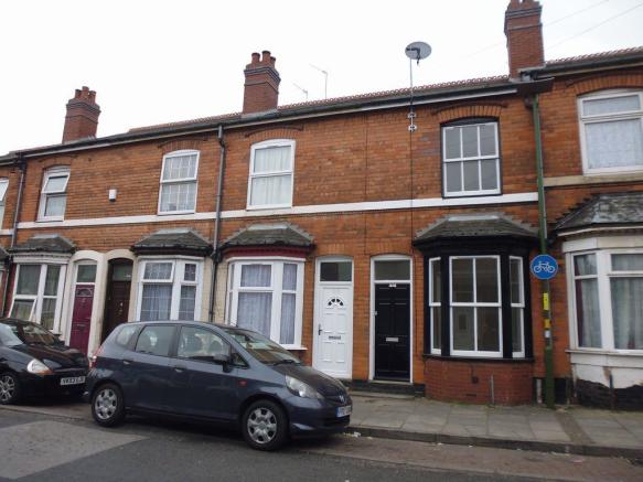 Thumbnail BIRMINGHAM, GREET, GOUGH ROAD **This Two bedroom Terraced House** offers two reception rooms, fitted kitchen (no appliances) with access to rear garden, the first floor offers two double bedrooms & bathroom with shower over bath. Rear garden with lawn and paved area, outside storage cupboard, roa...