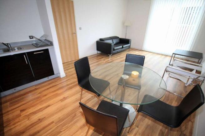 Thumbnail BIRMINGHAM, BROMSGROVE STREET, LATITUDE: **NEW TO THE MARKET** Latitude is located within walking distance from all of the cities attractions & New Street station. This spacious first floor Furnished modern apartment offers hallway with storage, a large open plan lounge/dining/fitted kitchen with...