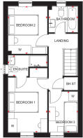 Maidstone First Floor Plan