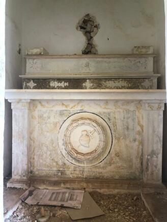 small church altar