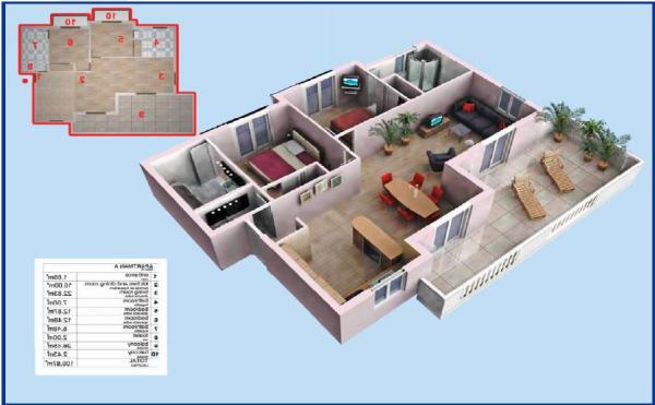 3D visualised layout