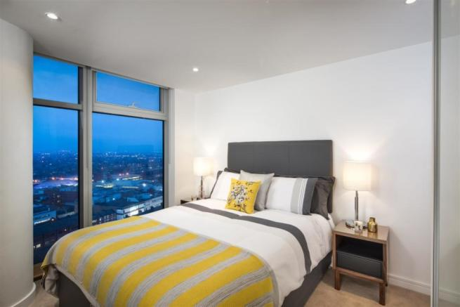 Apt 1801 Bedroom ...