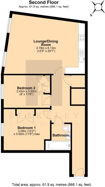Flat6 cheltenham House , 24a Clare st, Bristol ...