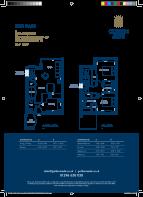 Floor plan Plot 20