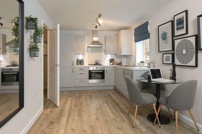 GP Apartment kitchen