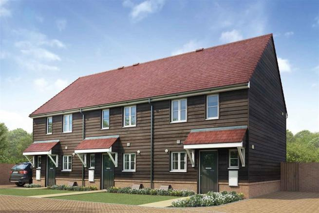 Artist's impression of a typical Canford home