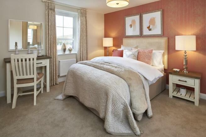 Hemsworth master bedroom