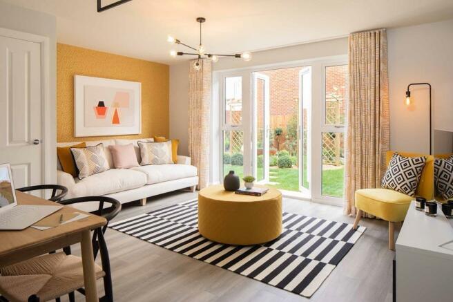 Barwick internal lounge, barratt homes, orchard green, kingsbrook