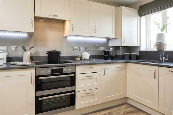 Light-filled modern kitchen