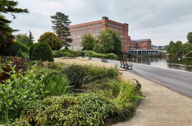 River Gardens view