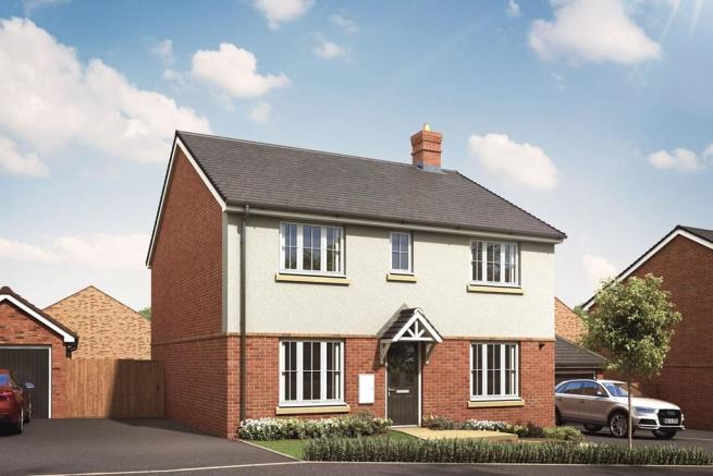 Artist's impression of a typical Thornford home