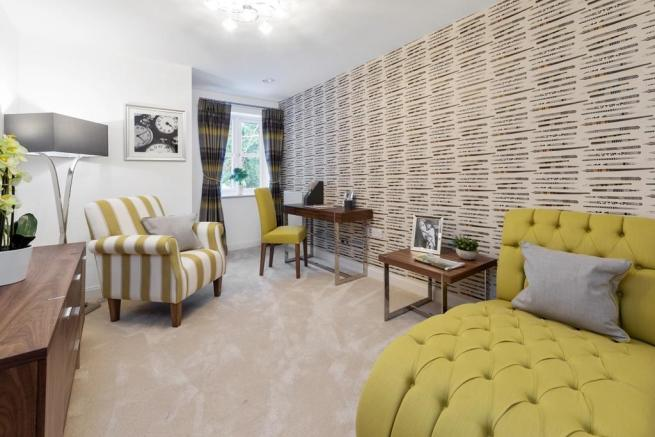 Stylish show apartment interiors