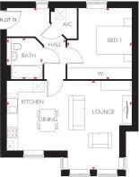 Willows House Apartments - Landmark Square in Wokingham