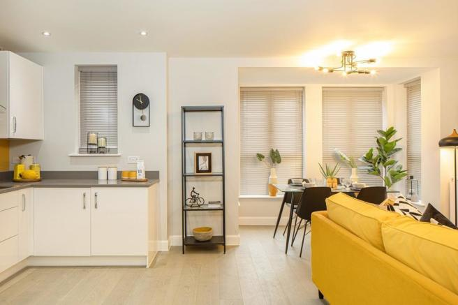 Landmark Square Wokingham  Plot 2 Show Apartment Kitchen/lounge