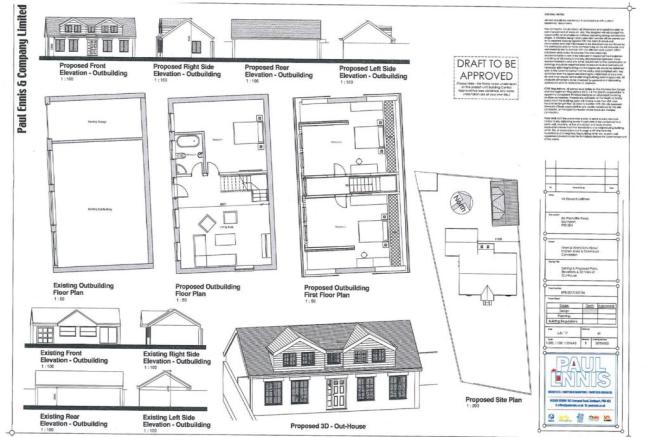proposed plans for annexe