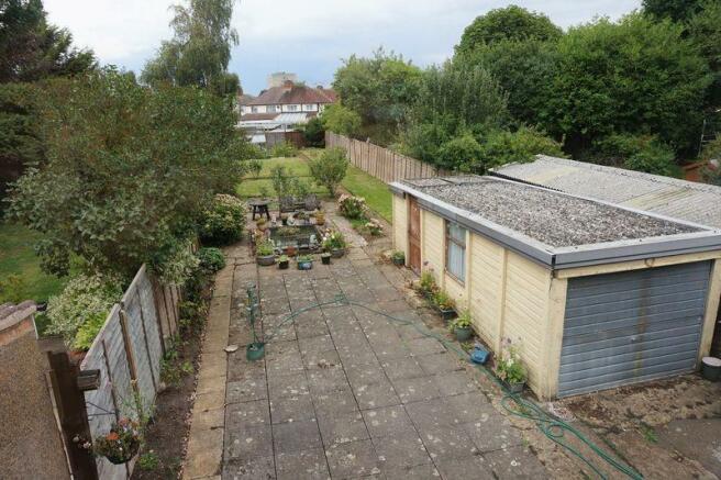 View of Garden...