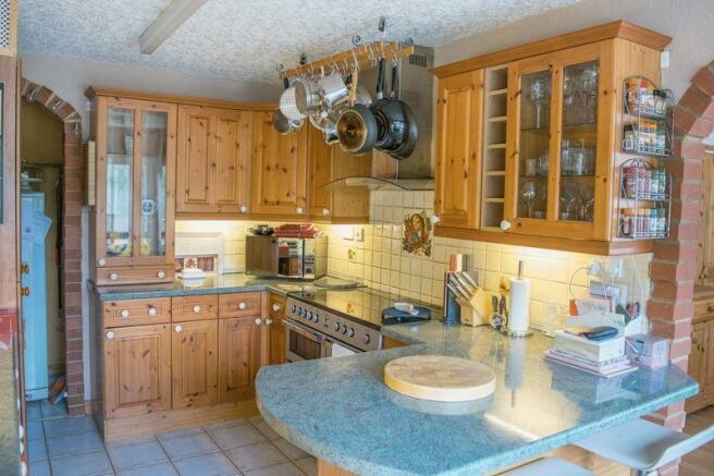 Kitchen second...