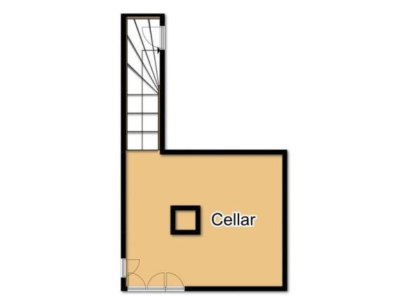 Cellar floorplan