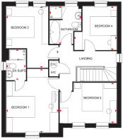 Holden first floor plan
