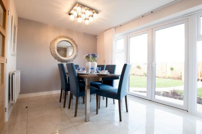 Dining area example
