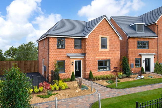 Momentum Show Home complex Radleigh 4 bed detached home