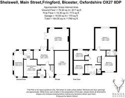 Shelswell, Main Street, Fringford, Bicester, Oxfor