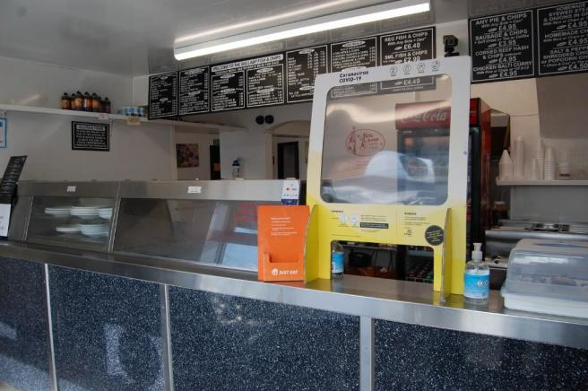 Front Sales Counter