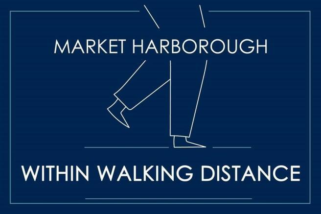 Walking distance to Market Harborough