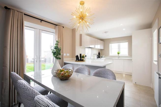 The Teasdale show home at Kiln Meadows, Derbyshire