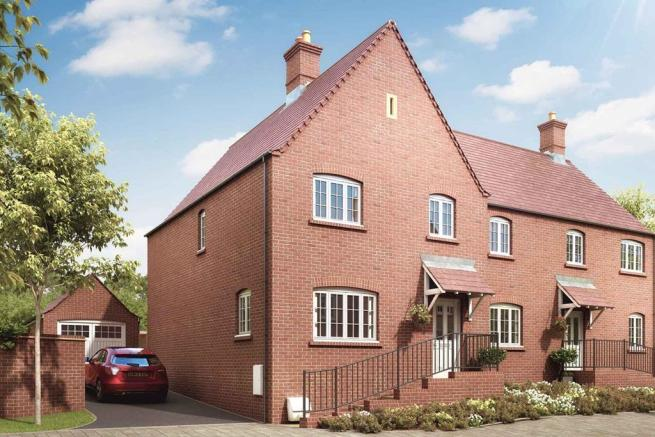 Artists impression of a Midford home