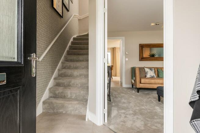 A separate entrance hallway