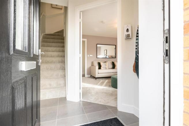 Hallway entrance of the Gosford show home at Oak Spring Gardens