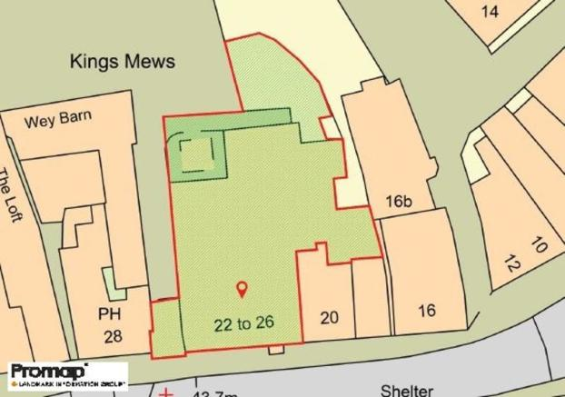 Promap  OS  Kings Arms Royal Hotel Godalming Upd