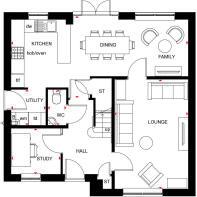 Radleigh ground floor plan