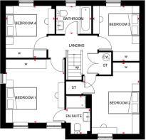 Radleigh First Floor Plan