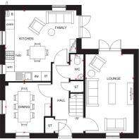 Alderney Ground Floor Plan