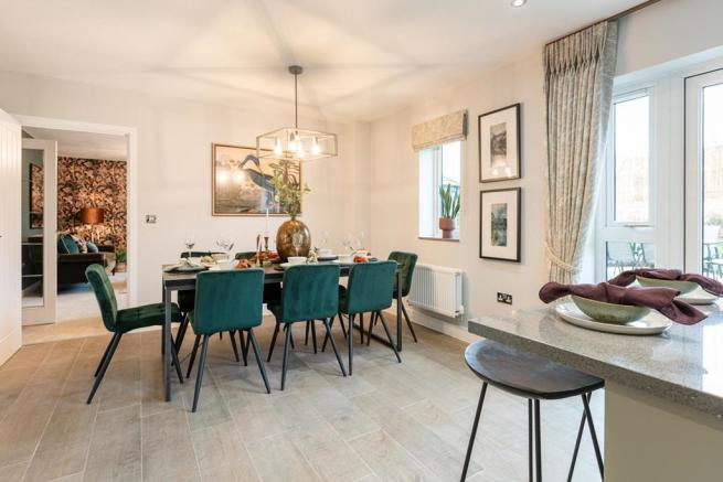 A wonderful space for family dinners