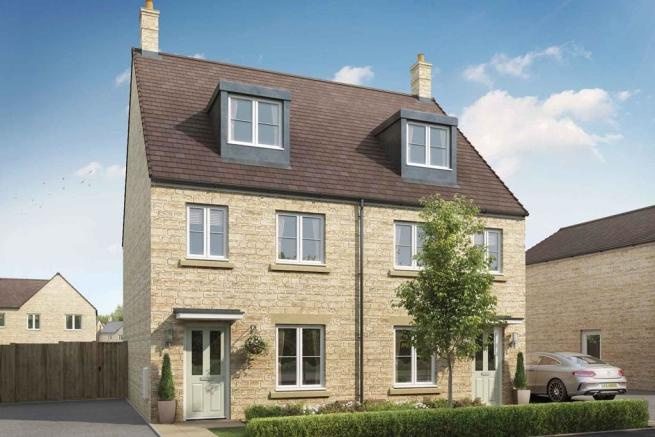 Artists impression of a Braxton home