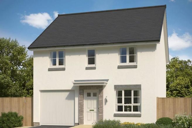 Example of 4 bed detached home, The Glamis