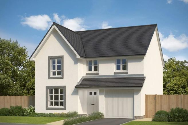 Example of 4 bed detached home, The Cullen