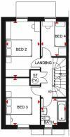 Woodcote FF floor plan clipstone park