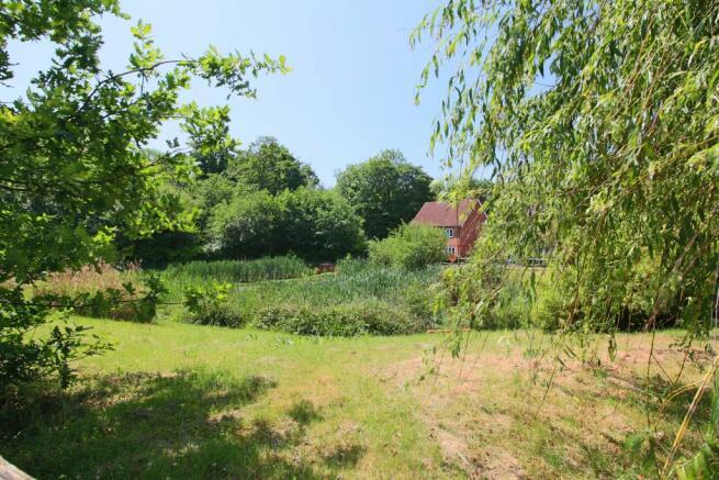 Pond at Clayton Mills