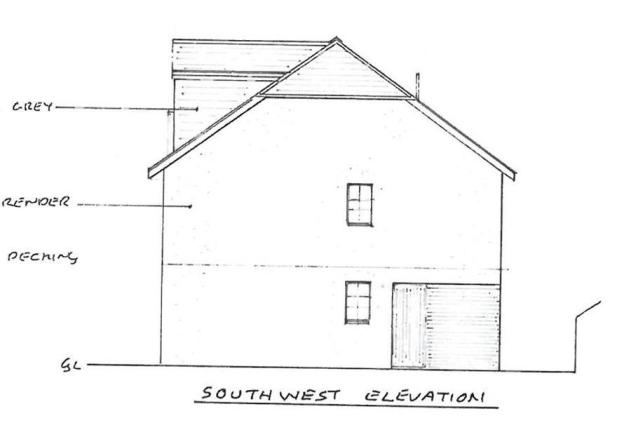 South West Elevation