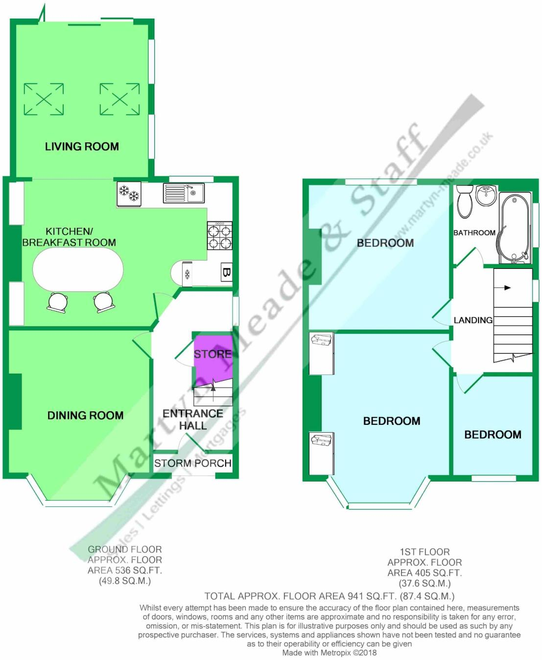 3 bedroom semi-detached house for sale in County Road, Ormskirk ...