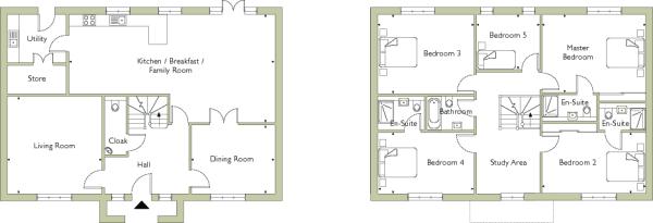 Plots 3, 5 & 6 Floorplan