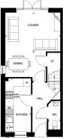Norbury Ground Floor Plan - Linmere