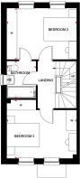 Norbury First Floor Plan - Linmere